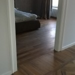 Parchet interior lemn